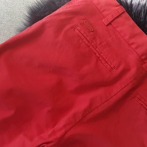 Wilfred Red Chinos